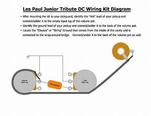 Les Paul Junior Tribute Dc  U0026 39 50s Wiring Kit