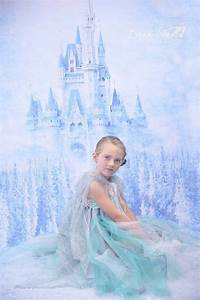 Winter Princess Castle Backdrop / Frozen Birthday Party ...