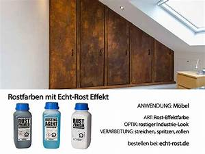 Rost Effekt Farbe : starterset rost outdoor rost effekt farbe rostoptik probeset echt rost ~ Yasmunasinghe.com Haus und Dekorationen