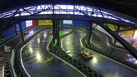 Our Indoor Go Karting Track