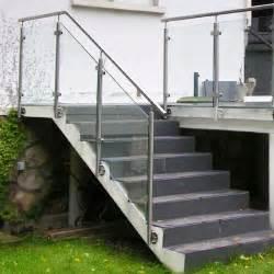 Garde Corp Escalier Exterieur by Re Escalier Ext 233 Rieur Verre Pose 224 L Anglaise Inoxdesign