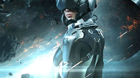 wallpaper eve valkyrie  games  game space sci