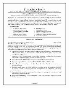sales and marketing resume sample page 1 resume writing With cv template for marketing job