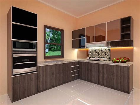 Desain Kitchen Set Modern  Dapur Minimalis Idaman