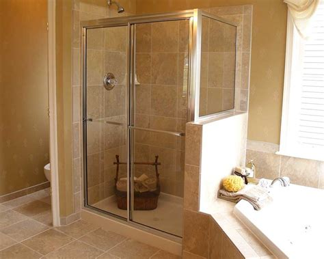 Bathroom Glass Door Cover by By Pass Shower Doors Fairfax County Abc Glass Mirror