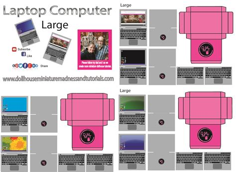 Dollhouse Miniature Template by Templates Dollhouse Miniature Madness And Tutorials