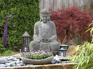 Idée Jardin Zen : idee jardin bouddha ~ Dallasstarsshop.com Idées de Décoration