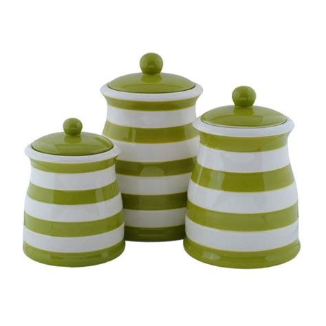 green kitchen canisters sets canisters canister sets