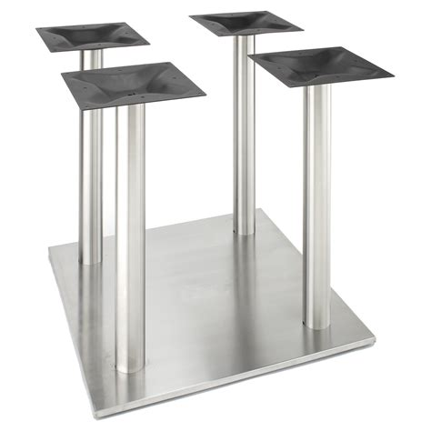 counter height table base rsq750x4 stainless steel table base counter height 34 3
