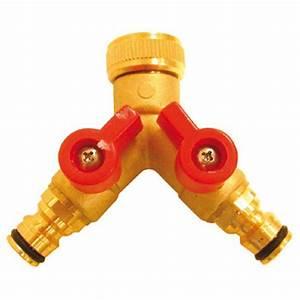 Arrosage Automatique Sans Robinet : installer un raccordement de tuyau d arrosage ext rieur ~ Premium-room.com Idées de Décoration