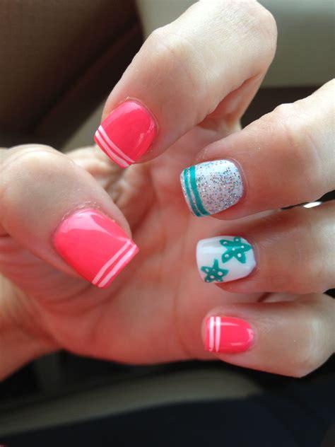 beachy beach nails   nails beach nails nail