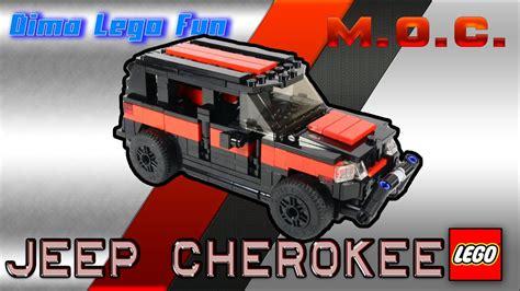 Jeep Cherokee #71 Lego Moc Instruction