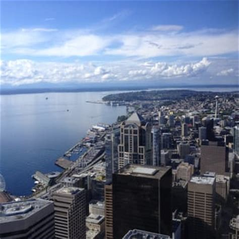 Columbia Center Observation Deck by Sky View Observatory Observatories Downtown Seattle