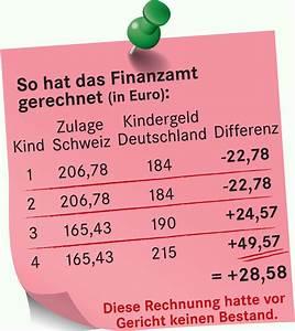 Kindergeld Berechnen : wie deutsche pendler in der schweiz das kindergeld berechnen geld finanzen badische zeitung ~ Themetempest.com Abrechnung