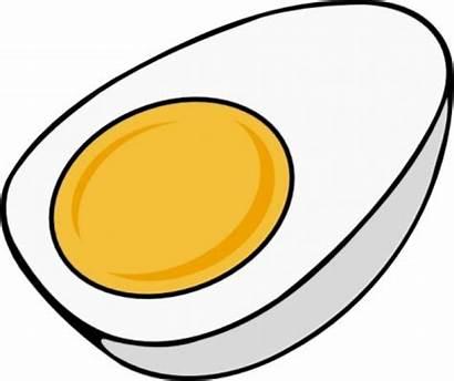 Clip Clipart Egg Object Eggs Yolk Half