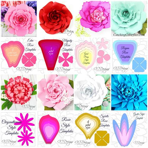 tissue paper rose template free giant paper flower template the art of giant paper