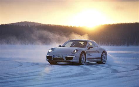 porsche  snow hd cars  wallpapers images