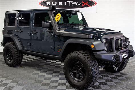 jeep wrangler 2016 jeep wrangler rubicon unlimited aev jk 350 conversion