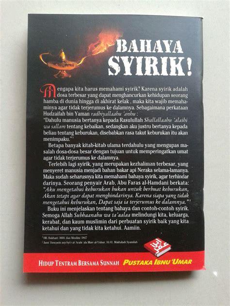 Ibu Hamil Zakat Fitrah Buku Saku Bahaya Syirik Kezhaliman Terbesar