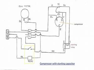 Goodman Hard Start Capacitor Wiring Diagram
