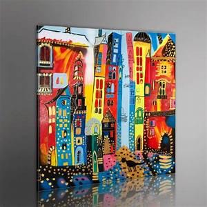 Wandbilder Fürs Bad : 100 handgemalt gem lde bilder leinwand 1 teilig abstrakt wandbilder 5059 80x80 cm ~ Sanjose-hotels-ca.com Haus und Dekorationen
