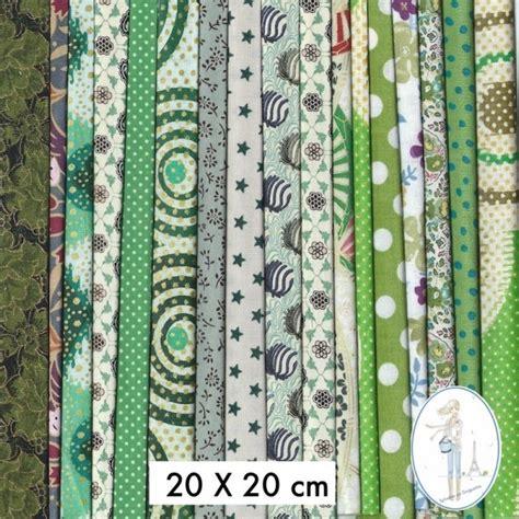 lot de tissus pas cher en ccoupon 30x30 cm