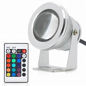 W outdoor led flood light rgb color changing remote