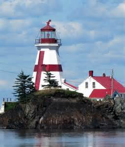Head Harbour Lighthouse New Brunswick