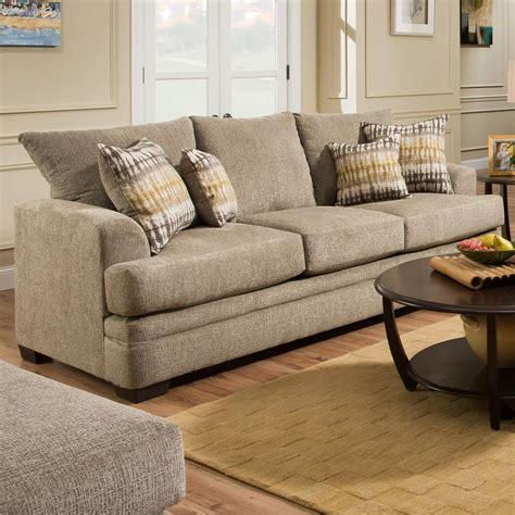 American Furniture Sofa by American Furniture 3650 Casual Sofa With 3 Seats Wayside