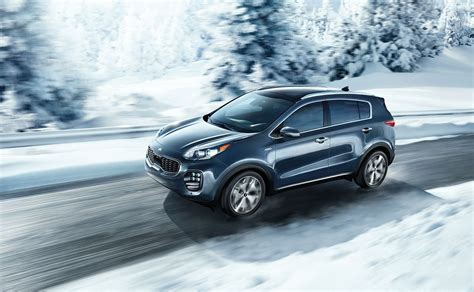 Kia Sportage 4k Wallpapers by 2018 Kia Sportage On Road Snow Background 4k Hd Wallpaper