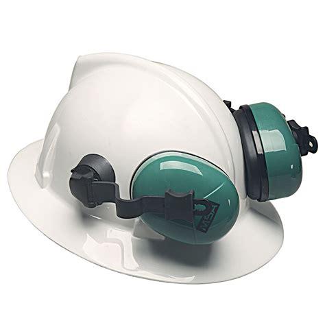 earmuff msa msa 10034487 brim hat ear muffs 25db