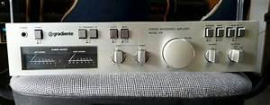 Amplificador Gradiente Modelo 126 Impecable
