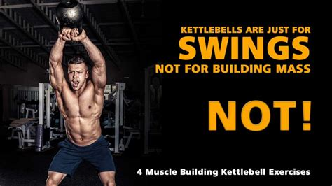 kettlebell muscle exercises kettlebells building results swings weight caveman dictates gives dead end hypertrophy