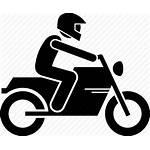 Icon Motorbike Icons Motorcycle Bike Rider Helmet