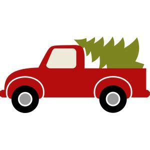 silhouette design store truck christmas tree christmas tree truck christmas red truck