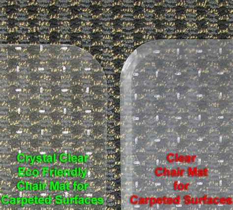 Environmentally Green Chair Mats, Ecologically Safe Chair