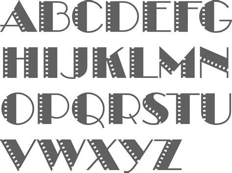 myfonts cinema typefaces