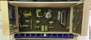 Tool Storage Wall Cabinet » Rogue Engineer