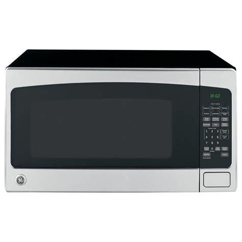 countertop microwave stainless steel ge 2 cu ft 1 200 watt countertop microwave stainless
