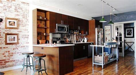 contemporary industrial kitchen design ideas https