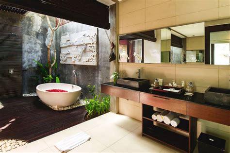 modern romantic balinese outdoor showers chandra villa bali