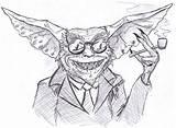 Gremlins Template Gizmo Drawing Sketch Deviantart Coloring sketch template