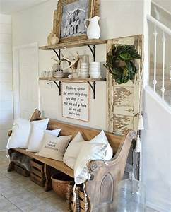 Cool, 43, Beautiful, Rustic, Entryway, Decoration, Ideas, S