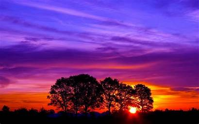 Sunset Pretty Wallpapers Nature Following Wallpaperplay