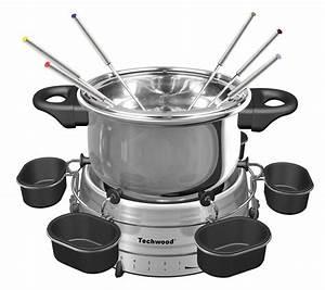 Service À Fondue Savoyarde : service fondue electrique en acier inoxydable 6 personnes ~ Melissatoandfro.com Idées de Décoration
