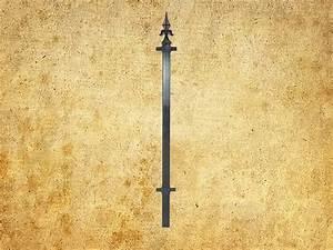Poteau En Fer : poteau de cloture saint emilion chez d co fer forg ~ Edinachiropracticcenter.com Idées de Décoration