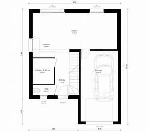 Plan Maison A Etage : plan maison individuelle 4 chambres inya habitat concept ~ Melissatoandfro.com Idées de Décoration
