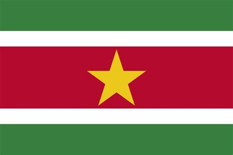 flag  suriname image  meaning suriname flag country
