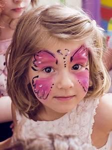 Maquillage Enfant Facile : maquillage enfant papillon ~ Farleysfitness.com Idées de Décoration