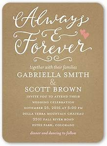 forever hearts 5x7 wedding invitations shutterfly With wedding invitation by shutterfly